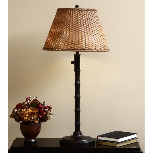 ClearLite Palm Beach Outdoor/ Indoor Bronze Opticolor Table Lamp
