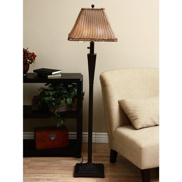 ClearLite Bahama Indoor/ Outdoor Bronze Opticolor Floor Lamp