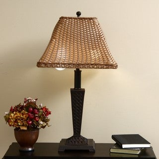 ClearLite Bahama Indoor/ Outdoor Bronze Opticolor Table Lamp