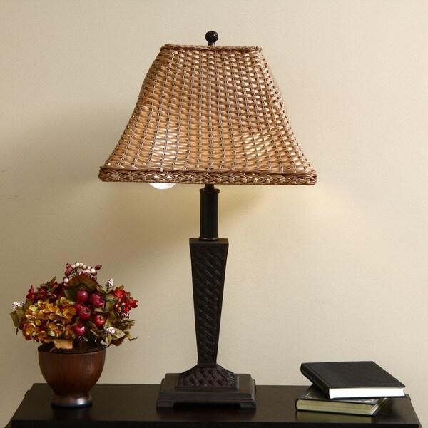 ClearLite Bahama Indoor/ Outdoor Bronze Opticolor Table Lamp