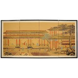 Dynasty Courtyard Silkscreen (China)