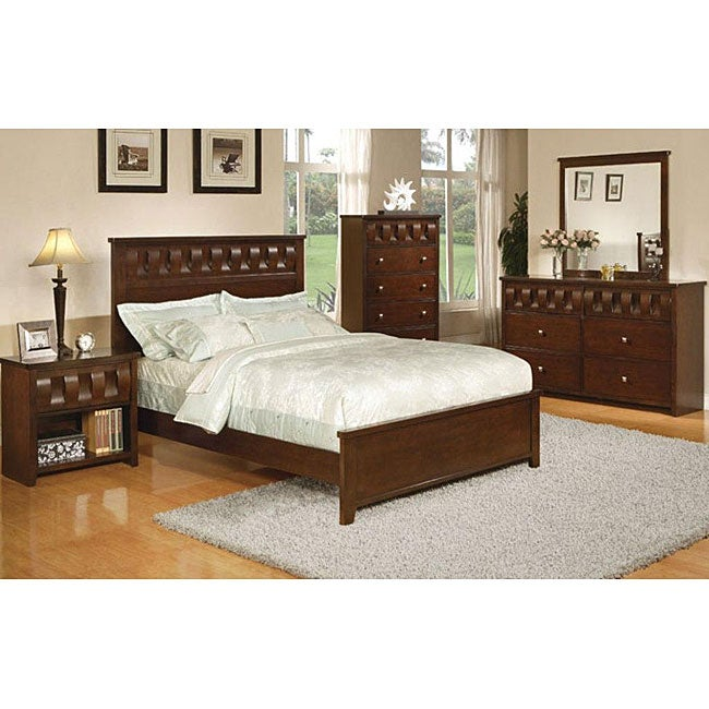 neha 5 piece california king size bedroom set 13276483 overstock