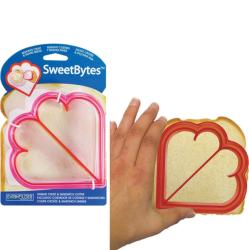 Love Bytes Bread Crust Cutter and Cookie Cutter