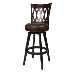Knollwood 30-inch Wood Swivel Bar Stool
