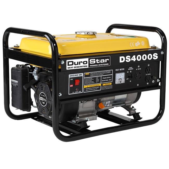 DuroStar 4,000-watt 7.0-HP Air-cooled OHV Gas Engine Portable RV Generator at Sears.com
