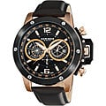 Akribos XXIV Men's Multi-function Stainless Steel Swiss Quartz Watch