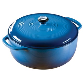 Lodge Blue Enamel 7.5-quart Dutch Oven