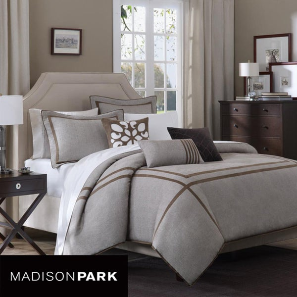 Madison Park Easton 6-Piece King-Size Duvet Cover Set