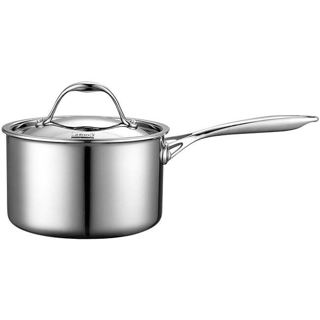 Cooks Standard 3-quart Multi-ply Clad Stainless Steel Saucepan
