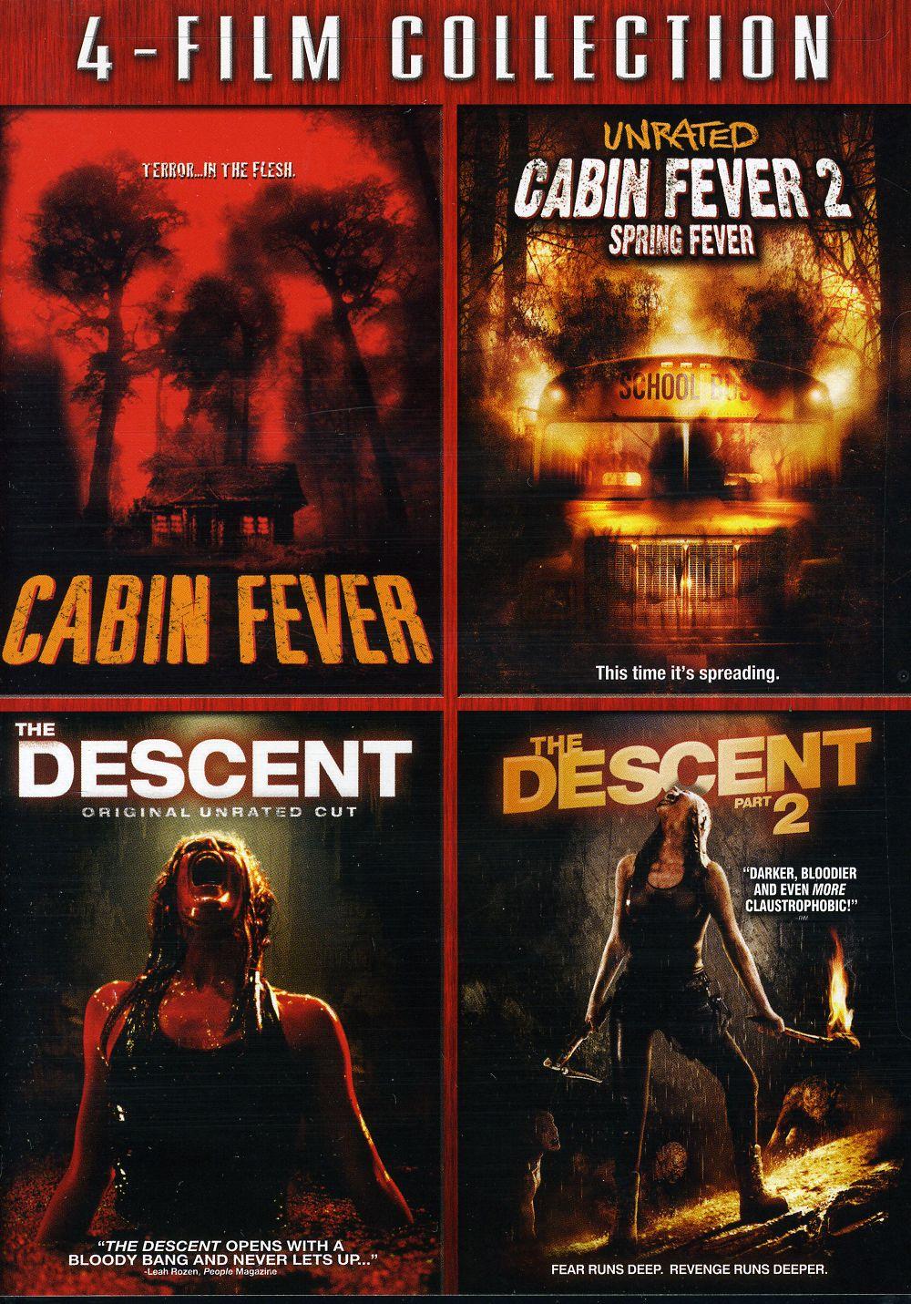 Cabin Fever/Cabin Fever 2/Descent/Descent 2 (DVD)