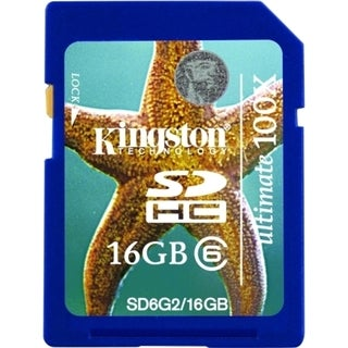 Kingston Ultimate SD6G2/16GB 16 GB Secure Digital High Capacity (SDHC