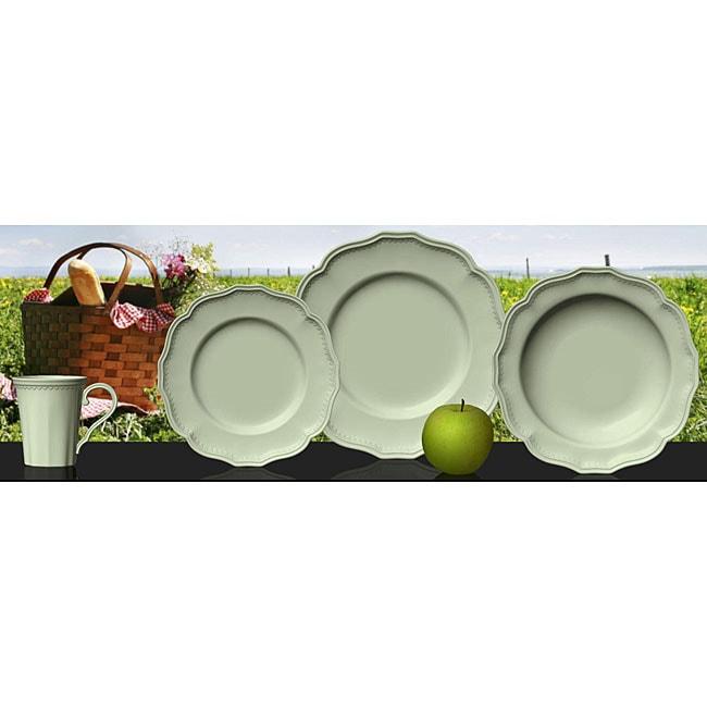 Red Vanilla Classic Sage 16-piece Dinnerware Set