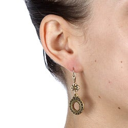 Charming Life Goldfill Sun Circle Earrings