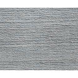 Hand-loomed Haiden Grey Wool Rug (5' x 8')