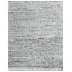 Hand-loomed Haiden Grey Wool Rug (5' x 8')
