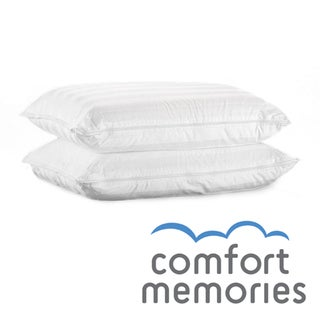 Comfort Memories Memory Foam Molded Bed Pillows (Set of 2)