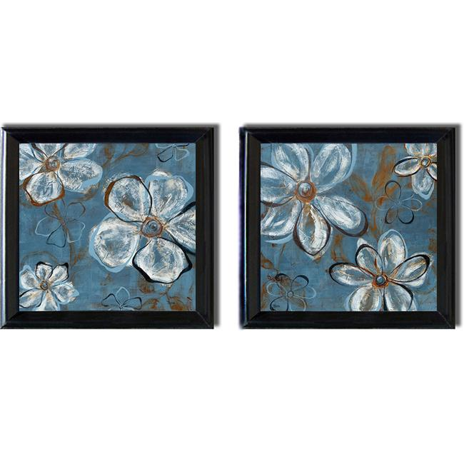 Patricia Pinto 39 Relaxation I And II 39 Framed Canvas 2 Piece Art Set