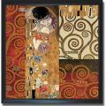 Gustav Klimt 'Klimt Montage' Framed Canvas Art