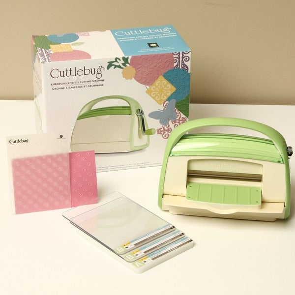 Cricut cuttlebug v2 embossing and die cutting machine for Craft die cutting machine