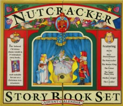 The Nutcracker Story Book Set and Advent Calendar (Hardcover)