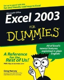 Excel 2003 for Dummies (Paperback)