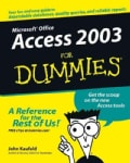 Access 2003 for Dummies (Paperback)