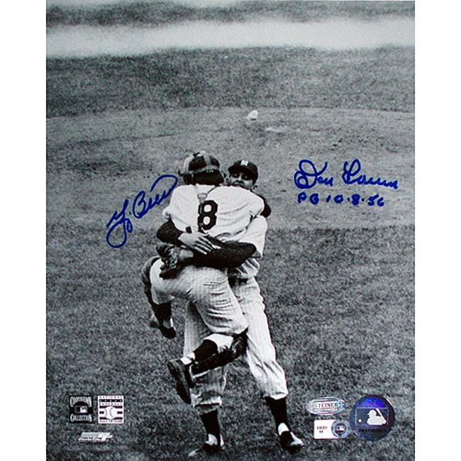 Steiner Sports Yogi Berra and Don Larsen Autographed Photo