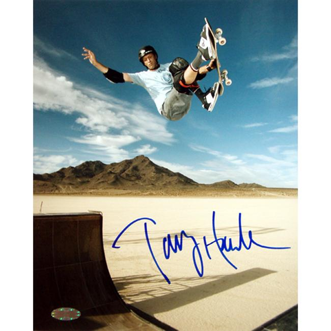 Steiner Sports Tony Hawk Autographed Photo with Certificate of Authenticity
