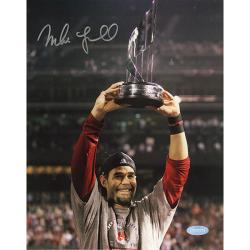 Steiner Sports Mike Lowell Autographed Photo with Certificate of Authenticity