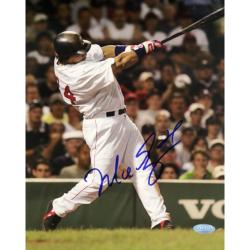 Steiner Sports Manny Ramirez Vertical Autographed Photo with Blue Signature