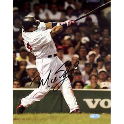 Steiner Sports Manny Ramirez Vertical Autographed Photo with Black Signature
