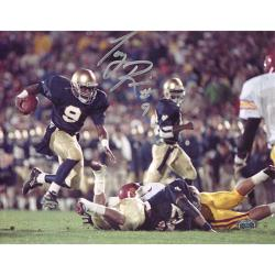 Steiner Sports Notre Dame Tony Rice Autographed Photo