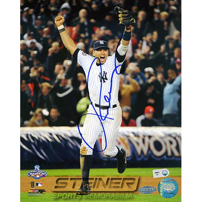 Steiner Sports Alex Rodriguez Hand-Signed Autographed Photo