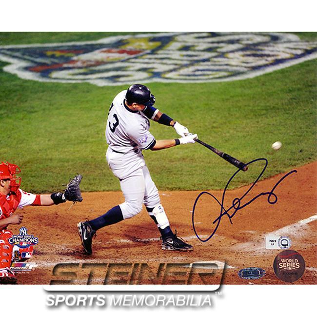 Authentic Steiner Sports Alex Rodriguez Autographed Photo