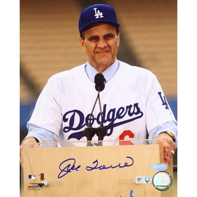 Steiner Sports Joe Torre Autographed Photo