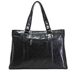 Nunzia Women's Giana Black 15.4-inch Laptop Tote Bag