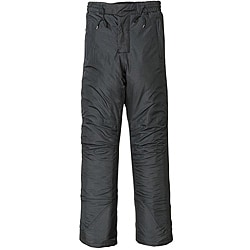Black Mossi Youth Polyester/Nylon Waterproof Boy's Snow/Skiing Pants