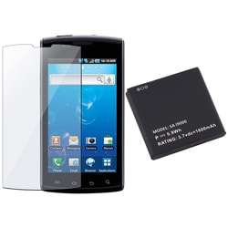 Screen Protector/ Li-ion Battery for Samsung i897 Captivate