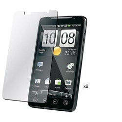 Screen Protector for HTC EVO 4G (Pack of 2)