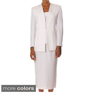Divine Apparel Women's Classic 3-piece Skirt Suit