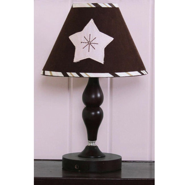 Pink Moon and Star Lamp Shade