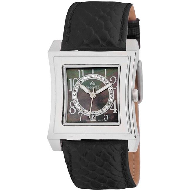 August Steiner Savannah Women's Swiss Quartz Strap Watch