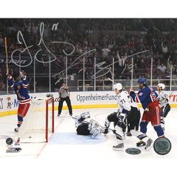 Steiner Sports Jaromir Jagr and Scott Gomez Autographed Photo