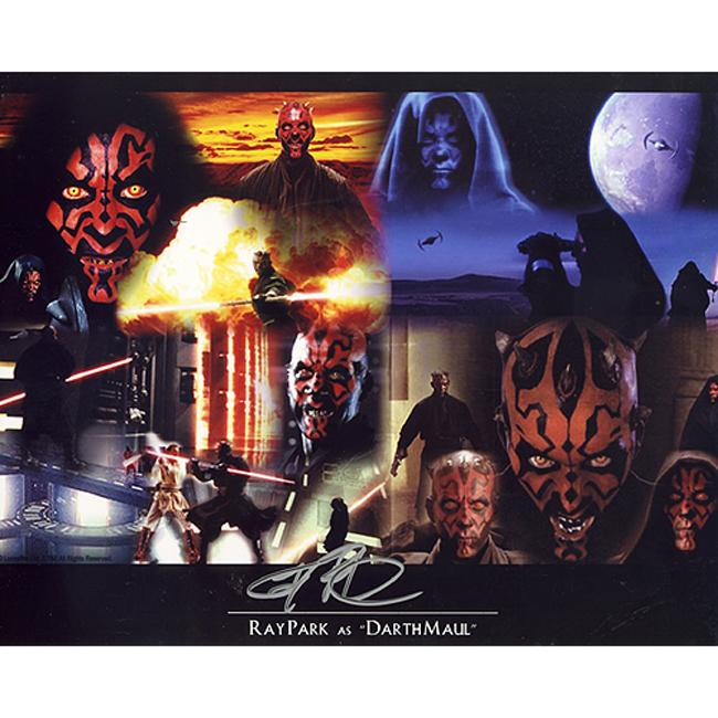 Star Wars Darth Maul Actor Ray Park Autographed Collage Photo
