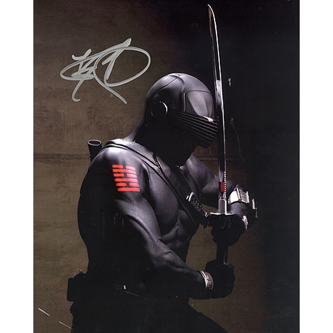 GI Joe 'Snake Eyes' Actor Ray Park Autographed Photo