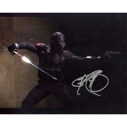 GI Joe Ray Park as 'Snake Eyes' Autographed Photo
