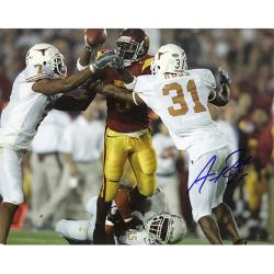 "Texas Longhorns Aaron Ross 8"" x 10"" Autographed Photo"