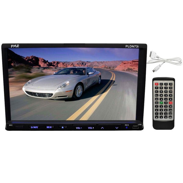 Pyle 7-inch Touchscreen In-dash Video Car Stereo