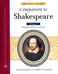 The Facts on File Companion to Shakespeare (Hardcover)