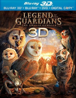 Legend of the Guardians: The Owls of Ga'Hoole 3D (Blu-ray/DVD)
